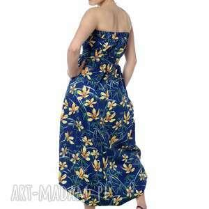 ubrania elegancki wyjątkowy kombinezon, maxi spódnica