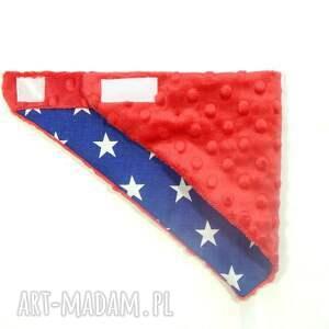apaszka ubranka niebieskie minky darkstars red
