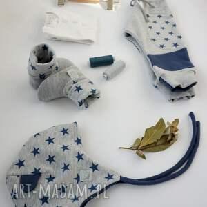 pomysł na upominki baby shower set gwiazdy ii (spodnie