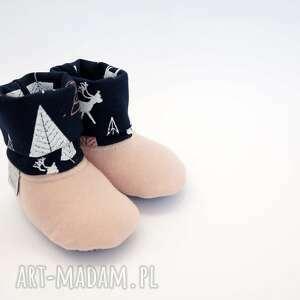 różowe zestaw baby shower set jelonki (spodnie