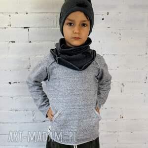 raglan ubranka bluza basic gray