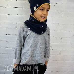 hand-made ubranka bluza basic gray