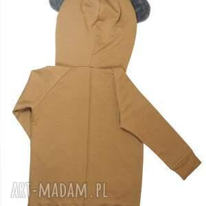 hand made kaptur bluza bear hoodie