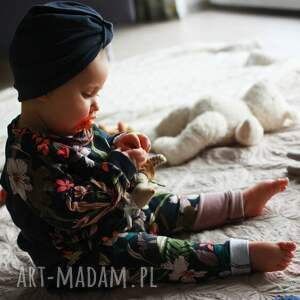 Mimi Monster bluza dla dziewczynki kwiaty 74 -98 cm - bluzka w kwiatki dla niemowlaka