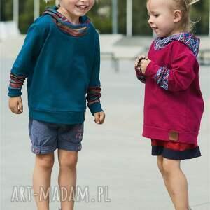 dziecięca bluza dziewczęca z kapturem |