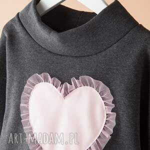 hand-made ubranka serce bluza db06g