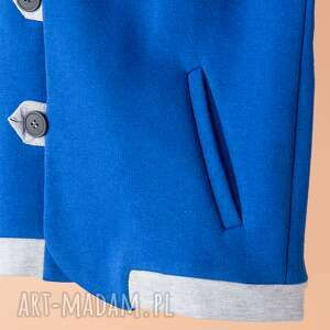 niebieskie ubranka bluza chb07n