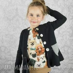pieski urocza bluza dla dziewczynki. przyjemna