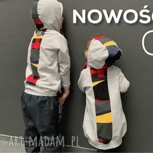 intrygujące bluza bubowa nowość! polska certyfikowana dresówka