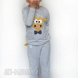 ręcznie zrobione ubranka żyrafa bluza