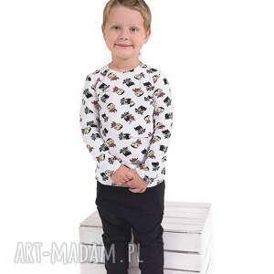 GAPULA Bluzeczka w batmany - ręcznie zrobione bluzka