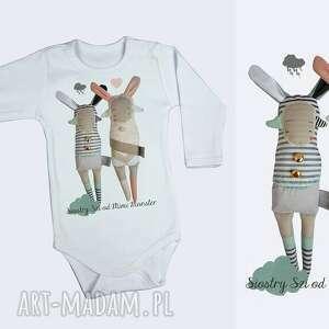 ubranka bluzeczka body siostry szi - prezent dla