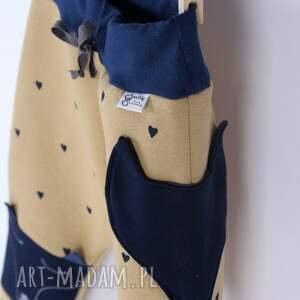 handmade ciepłe dresiaki - liski