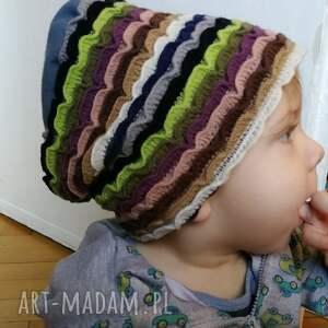 dziecko czapka dziecięca dzianina wełniana