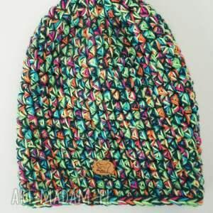 ciepła czapka hand made no. 020 /
