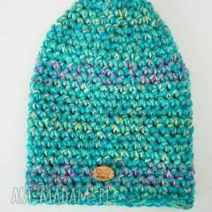 pomysł na upominek ciepła czapka hand made no. 036 /