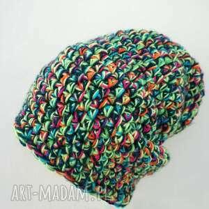 zimowa czapka hand made no. 020 /