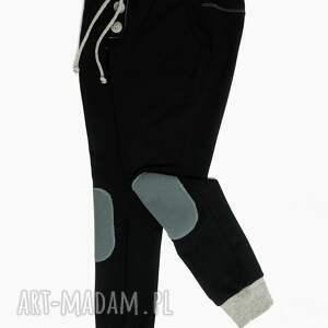 joggery czarne spodnie typu jogger