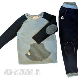ubranka czarne spodnie typu jogger