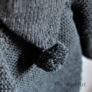 ubranka sweter długi z kapturem