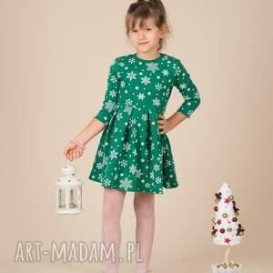 święta prezenty dziecięca sukienka śnieżynka