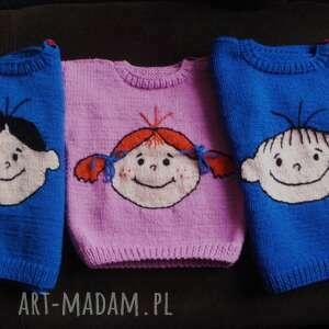 komplet 3 sweterków - zamówienie