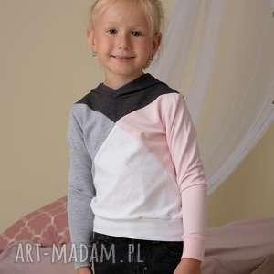 niesztampowe ubranka bluzy komplet bluz dla mamy i dziecka 3