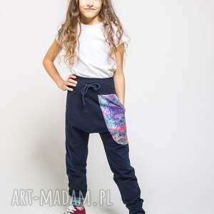 handmade dres dla dzewczyny komplet bluza i spodnie mosaic 134