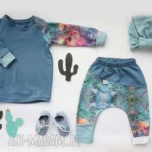 niepowtarzalne ubranka komplet-do-szkoły komplet dla dziewczynki (spodnie