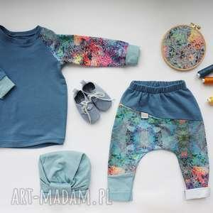 do-przdszkola ubranka komplet dla dziewczynki (spodnie