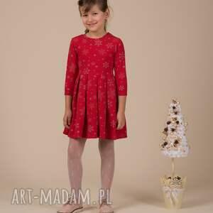 ubranka śnieżynki komplet czerwone !