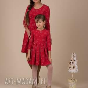 czerwone ubranka śnieżynki komplet !