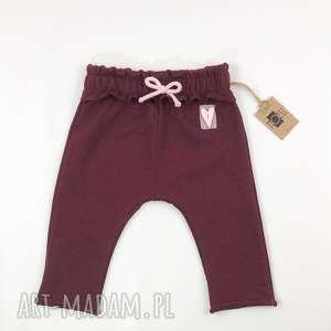 handmade ubranka zestaw komplet spodnie buggy i bluza