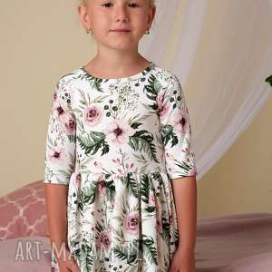 hand made komplet sukienek lea dla mamy