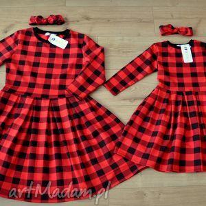 handmade kratka komplet sukienek