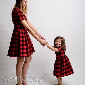 handmade sukienki komplet sukienek kratka