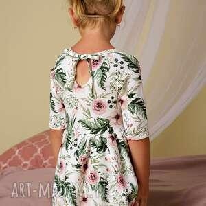 różowe sukienki dzianinowe komplet sukienek lea dla mamy