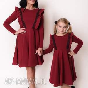 efektowne mama i-córka latori - sukienka dziewczęca