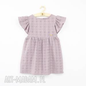 letnia różowe sukienka z haftowanej