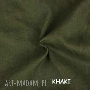 lniane ubrania szorty, krótkie