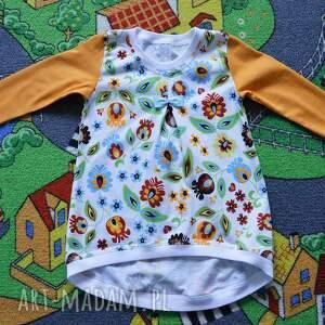 bawełniana łowicka tunika, sukienka