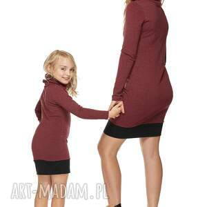 unikatowe ubranka sukienka mama i córka dla córki