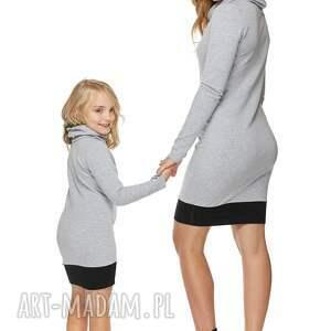 ubranka sukienka mama i córka dla córki
