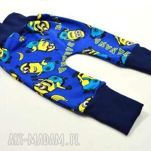 BamBi baggy minionki spodnie pumpy