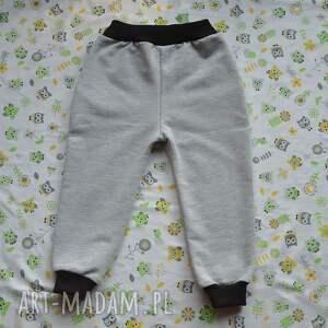 szare bawełniane spodnie moro, camo, dla chłopca