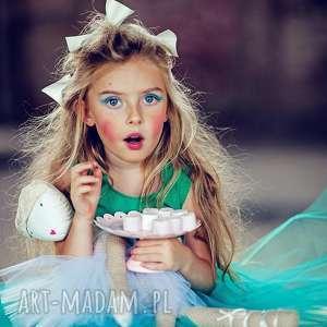 zielone ubranka tutu morskozielona sukienka tiulowa