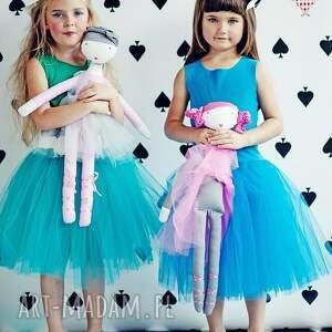 ubranka balerina morskozielona sukienka tiulowa tutu