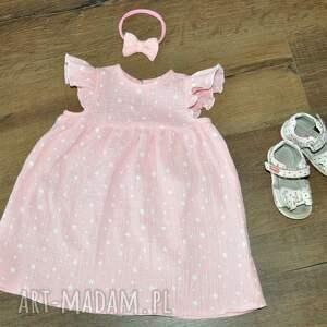 ubranka muślin muślinowa sukienka w kolorze