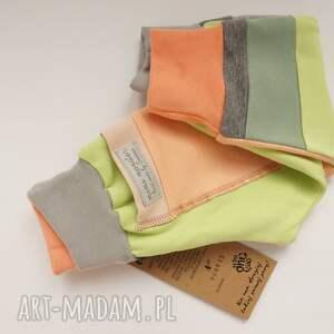 szare ubranka bawełna only one no 43 - spodnie 74 cm