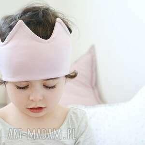 ubranka opaska korona różowa